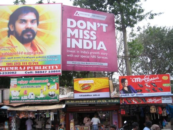 Billboard in Pondicherry