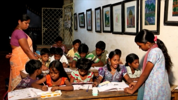 Evening tuition class at Yatra